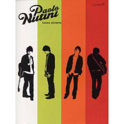 Faber Music Nutini Paolo - These Streets Pvg jetztbilligerkaufen
