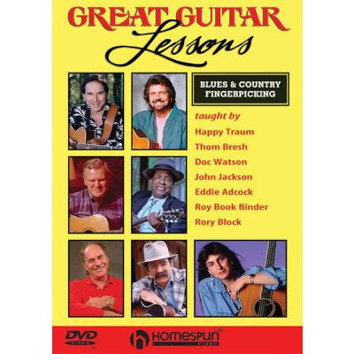 Great Guitar Lessons - Blues + Country Fingerpi...