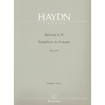 Sinfonie 93 D-Dur Hob 1/93