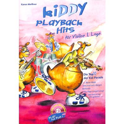 KIDDY PLAYBACK HITS FUER VIOLINE