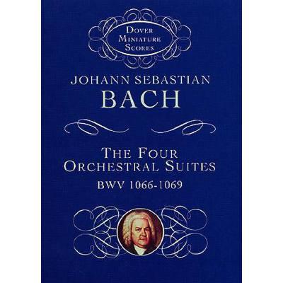 4 ORCHESTERSUITEN BWV 1066 1067 1068 1069
