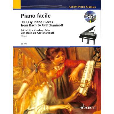 PIANO FACILE   30 leichte Klavierstuecke von Bach bis Gretchaninoff jetztbilligerkaufen