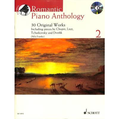 ROMANTIC PIANO ANTHOLOGY 2 | 30 Originalwerke - broschei
