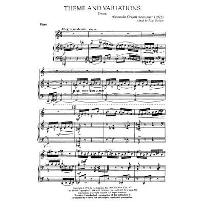 theme-and-variations