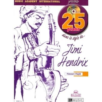 25 PLANS DANS LE STYLE DE JIMI HENDRIX