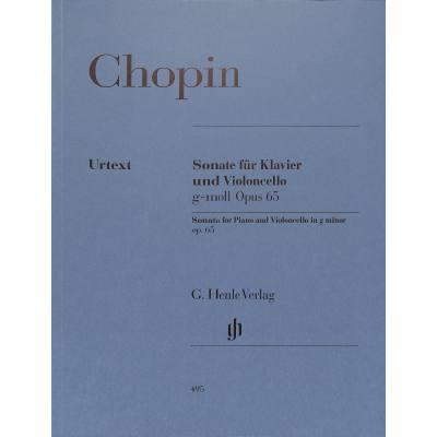 Sonate g-moll op 65