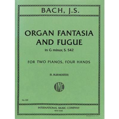 Orgel Fantasie und Fuge g-moll