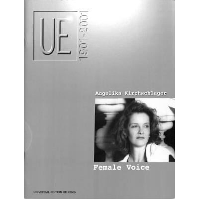 female-voice-jubilaums-ausgabe