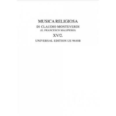 Musica religiosa 2 - Tomo 15/2