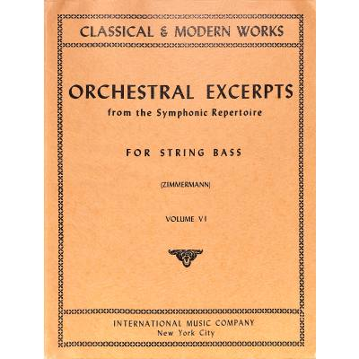 ORCHESTRAL EXCERPTS 6