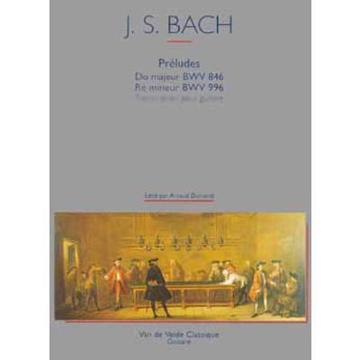 Preludes C-Dur BWV 846 + d-moll BWV 996