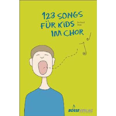 123 Songs für Kids im Chor