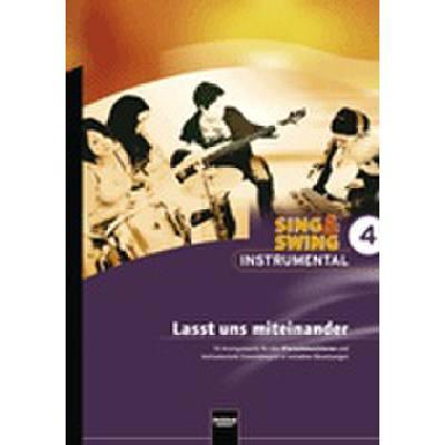 Sing + swing - Instrumentalheft 4