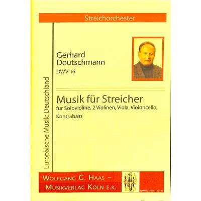Musik für Streicher DWV 16