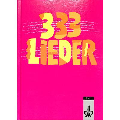 333 LIEDER - AUSGABE SUED