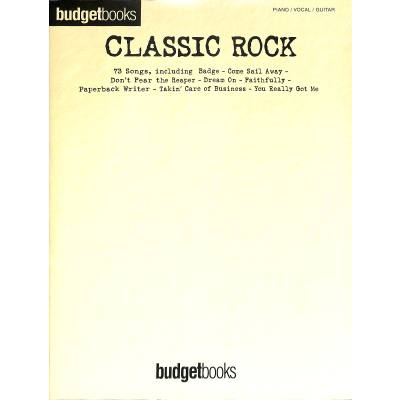 Budget books - classic Rock