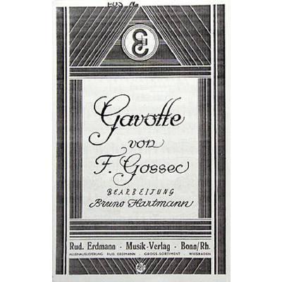 GAVOTTE D-DUR jetztbilligerkaufen