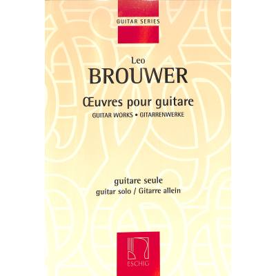Oeuvres pour guitar 1