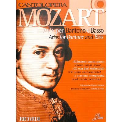 Arie per baritono e basso - Mozart don giovanni deh vieni alla finestra ...
