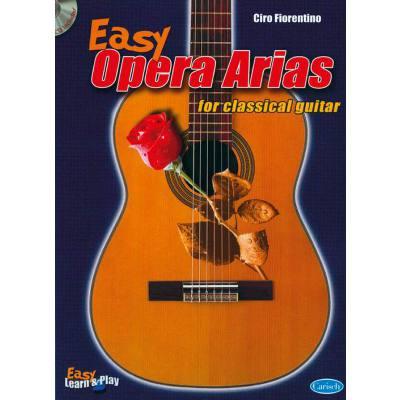 EASY OPERA ARIAS FOR CLASSICAL GUITAR
