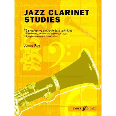 Faber Music Rae James - Jazz Clarinet Studies - broschei