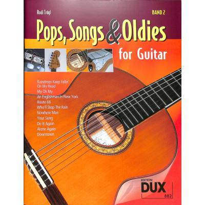POPS SONGS & OLDIES FOR GUITAR 2