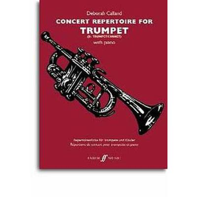 Faber Music Calland Deborah - Concert Repertoire For Trumpet And Piano jetztbilligerkaufen