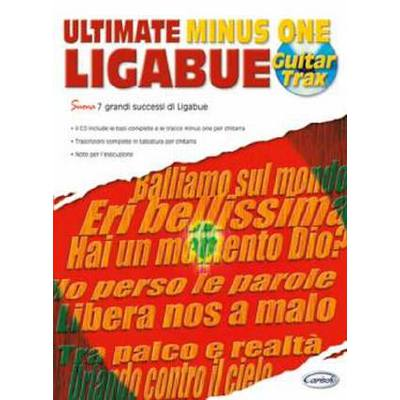 ULTIMATE MINUS ONE LIGABUE