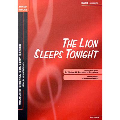 the-lion-sleeps-tonight, 2.30 EUR @ notenbuch-de