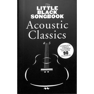 The little black songbook - acoustic classics
