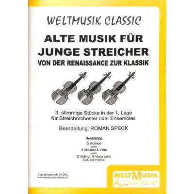 Alte Musik Fuer Junge Streicher (spieler)