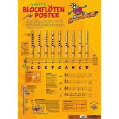 voggy-s-blockfloten-poster