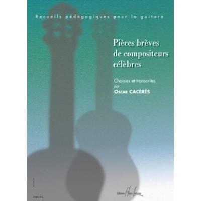 PIECES BREVES DE COMPOSITEURS CELEBRES