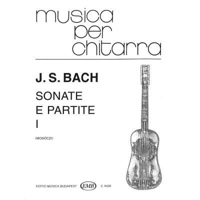 Sonate e partite 1  BWV 1001-1003