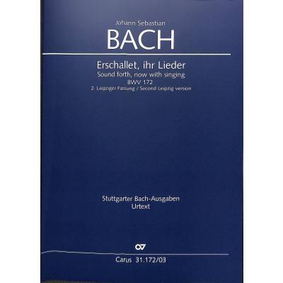 Kantate 172 erschallet ihr Lieder BWV 172