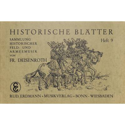 HISTORISCHE BLAETTER 9 - broschei