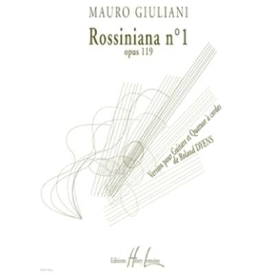 Rossiniana 1 op 119