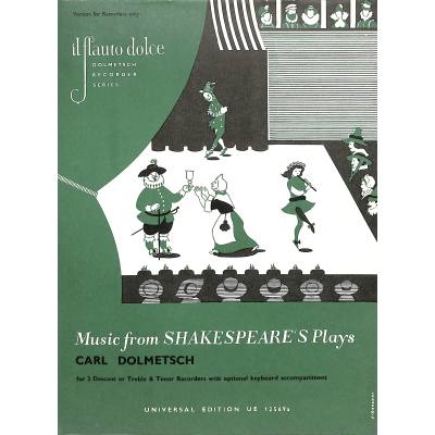 theatermusik-aus-shakespeares-zeit, 10.95 EUR @ notenbuch-de