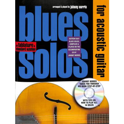 Blues solos for acoustic guitar