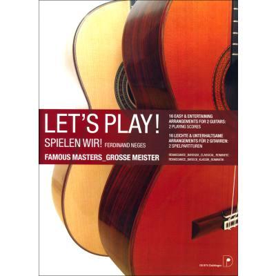 Spielen wir - let's play