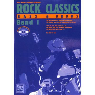 Rock classics 1 - bass + drums