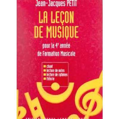 lecon-de-musique-4eme-annee, 17.50 EUR @ notenbuch-de