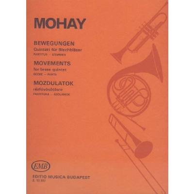 MOVEMENTS FOR BRASS QUINTETT