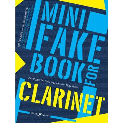 Faber Music Adams Sally / Harris Paul - Mini Fake Book Clarinet Solo - broschei
