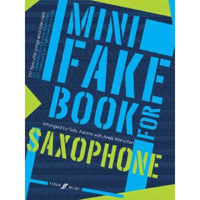 Faber Music Adams S / Hampton A - Mini Fake Book Saxophone - broschei