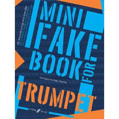 Faber Music Adams Sally - Mini Fake Book Trumpet Solo - broschei