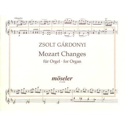 Mozart changes