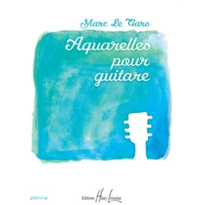 Aquarelles pour guitare