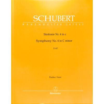 Sinfonie 4 c-moll d 417 (Tragische)