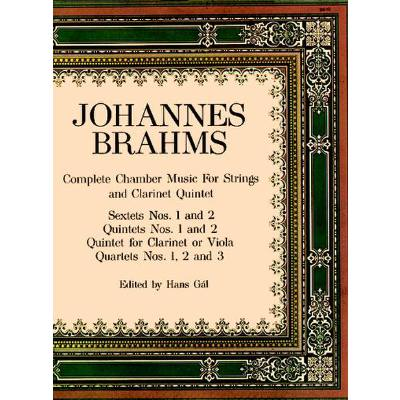 Complete Chamber Music for Strings Dover Chamber Music Scores